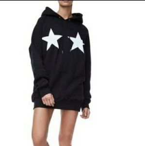 Good American Stars and Stripes Oversized  Hoodie!